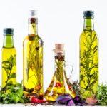 aderezo de aceite de oliva para ensaladas